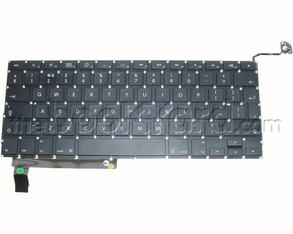 "Unibody MacBook Pro 15"" Keyboard, Swe/Fin 09-12 (v1)"