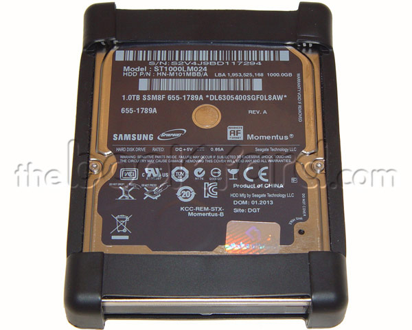 Apple Samsung 2TB 5,400rpm SATA Hard Drive w/Rubber Frame