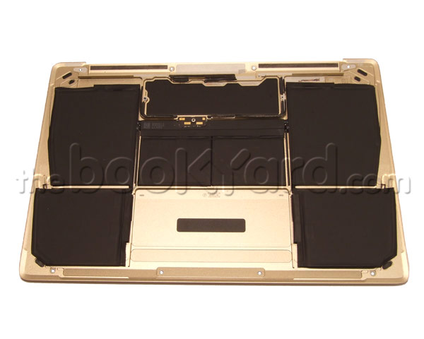 "MacBook Retina 12"" Bottom Case/w Battery - Gold (15)"