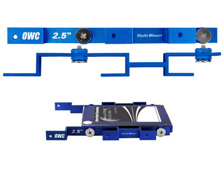 "OWC Multi-mount 2.5"" to 3.5"" bracket set"