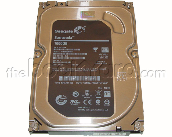"Apple Branded 1TB 3.5"" 7,200rpm SATA Hard Drive (iMac)"