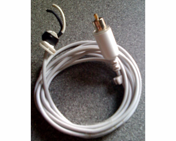 Apple 45/65W white charger cable and plug