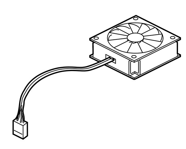Macintosh LC Fan (LC II, III & 475)