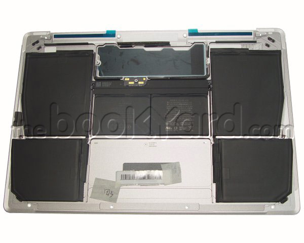 "MacBook Retina 12"" Bottom Case/w Battery - Space Grey (15)"