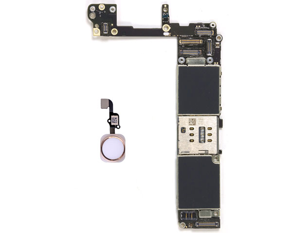 iPhone 6S Logic Board W/ Gold Home Button - 16GB - Unlocked