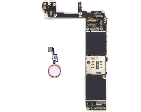 iPhone 6S Logic Board W/ Rose Home Button - 16GB - Unlocked