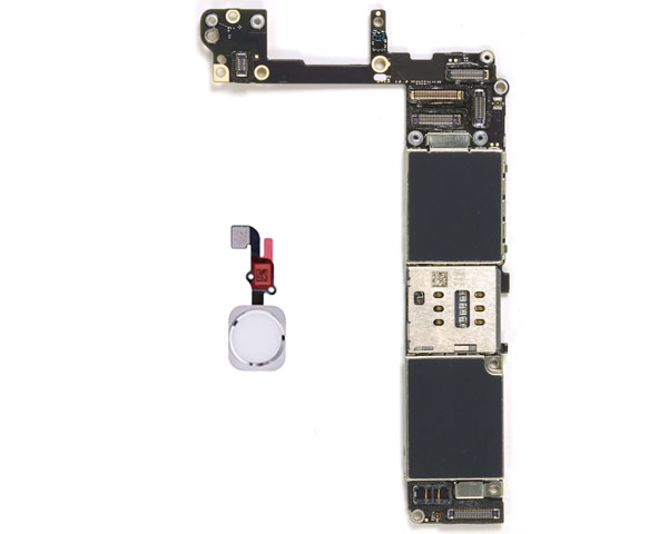 iPhone 6S Logic Board W/ Rose Home Button - 64GB - Unlocked