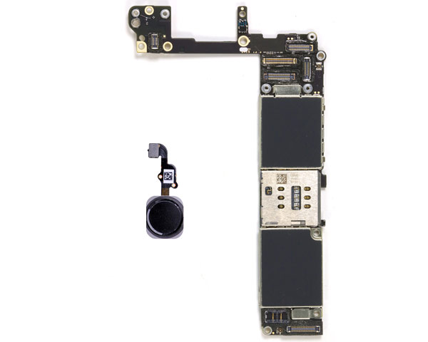 iPhone 6+ Logic Board W/ Grey Home Button - Unlocked