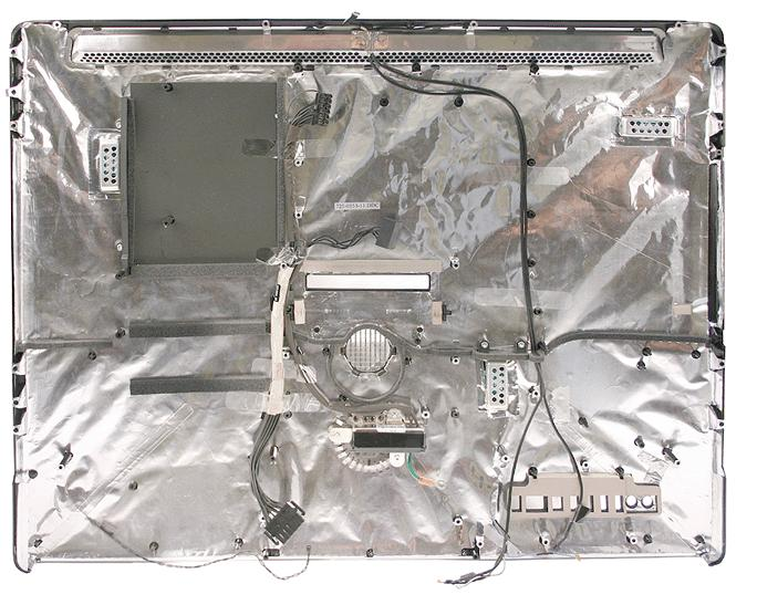 "iMac Alu 24"" rear case and chassis (Mid 2007)"