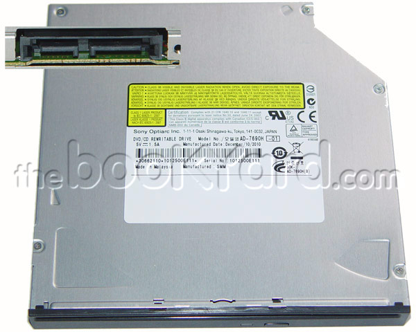 Sony Optiarc AD-7690H Slimline SuperDrive (SATA)