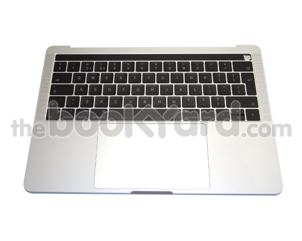 "MacBook Pro 13"" Top Case/Bat/TP UK - Silver (4TB 16/17)"