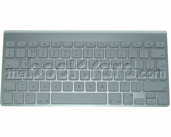 Apple Aluminium Wireless Bluetooth Keyboard, British (stained)