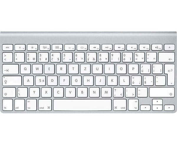 Apple Aluminium Wireless Bluetooth Keyboard, Czech (11)
