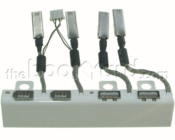"Aluminium Cinema Display 20"" FireWire/USB Port Panel (04/05 DVI)"