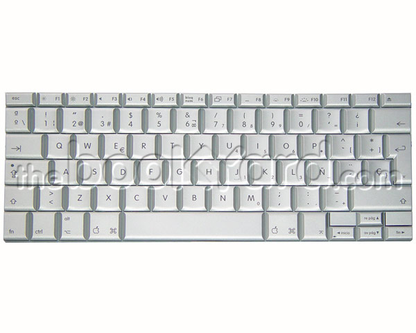 "MacBook Pro 17"" Keyboard Spanish (2.4GHz SR)"