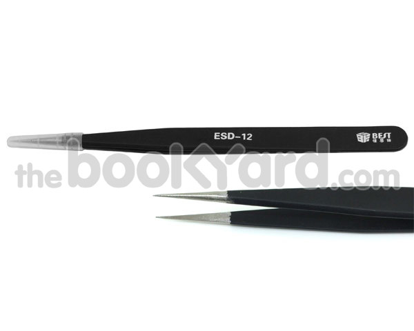 Fine Point Professional Tweezers - ESD-12
