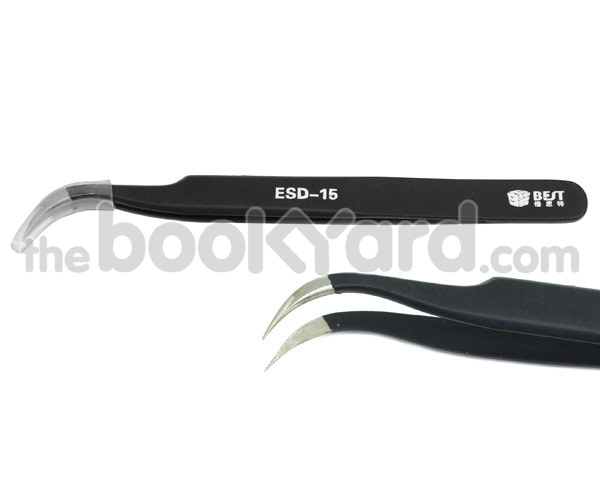 Fine Point Professional Tweezers - ESD-15