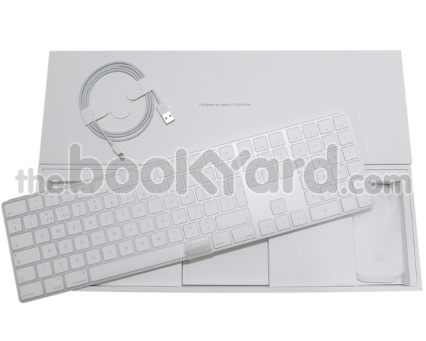 Apple Magic BT Extended Keyboard and Magic Mouse II set, UK