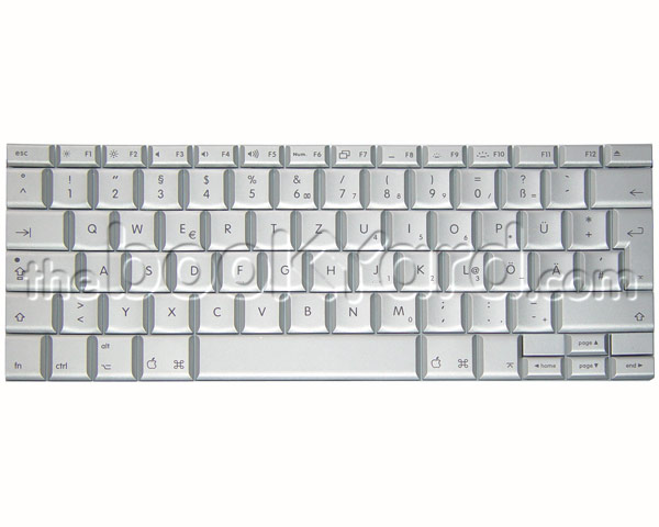 "MacBook Pro 15"" Keyboard German (08)"