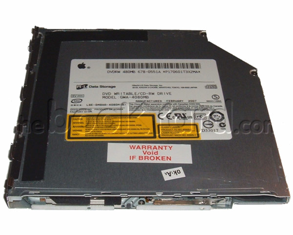 Hitachi.LG GWA-4080N super-slim Superdrive