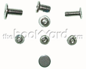 "iBook G4 12"" Top Case Screw Set and Magnet"