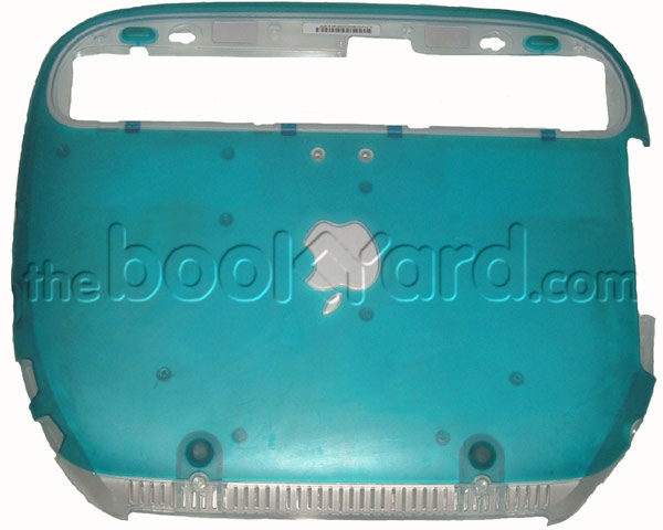 iBook G3 ClamShell Bottom Case Blue