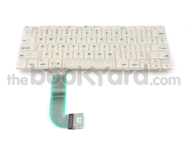 iBook G3 Clamshell keyboard, UK Orange