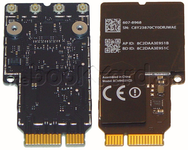 "iMac 21.5/27"" Airport/Bluetooth Card, British (L13/14/M15)"