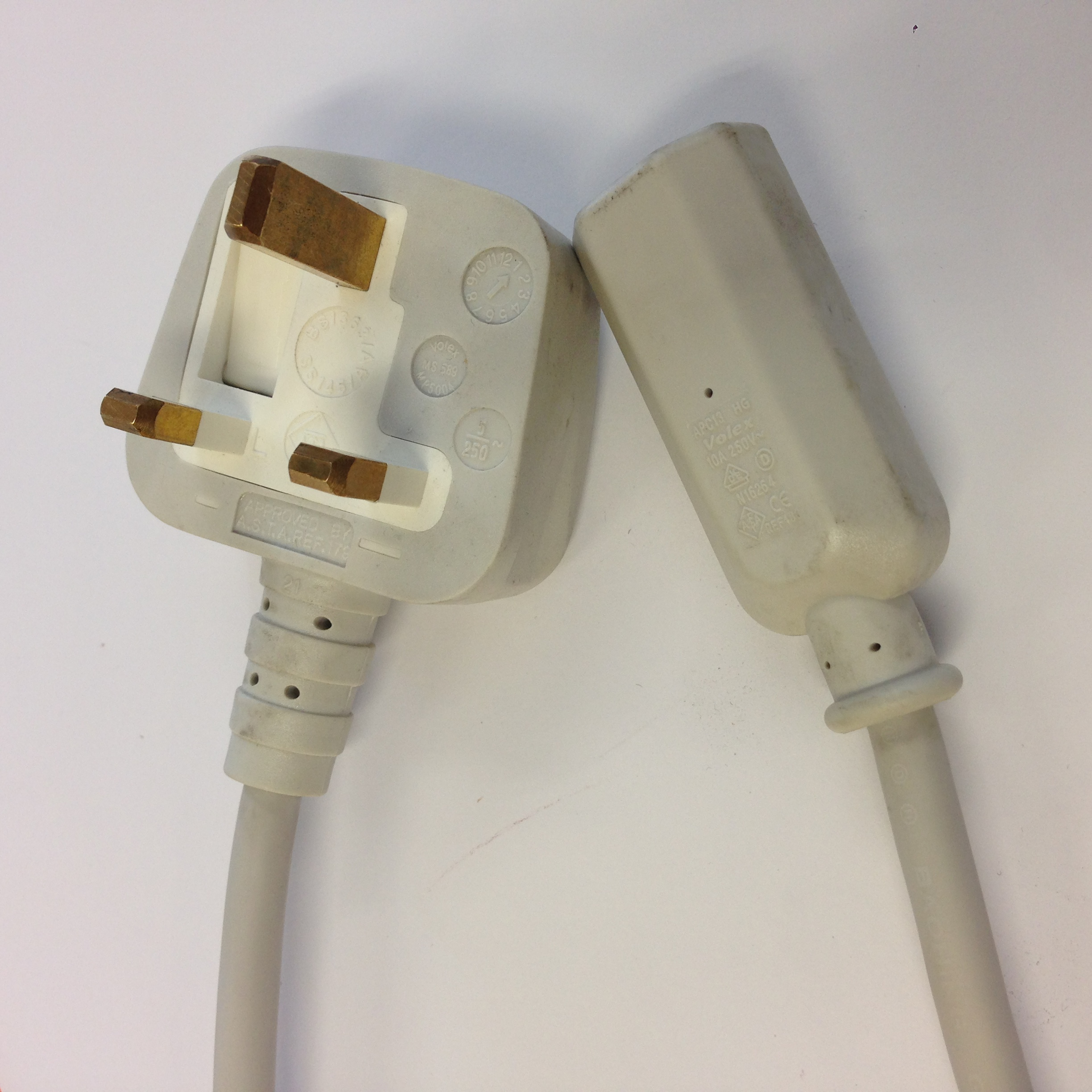 Apple Xserve 3.5m Kettle Lead - UK