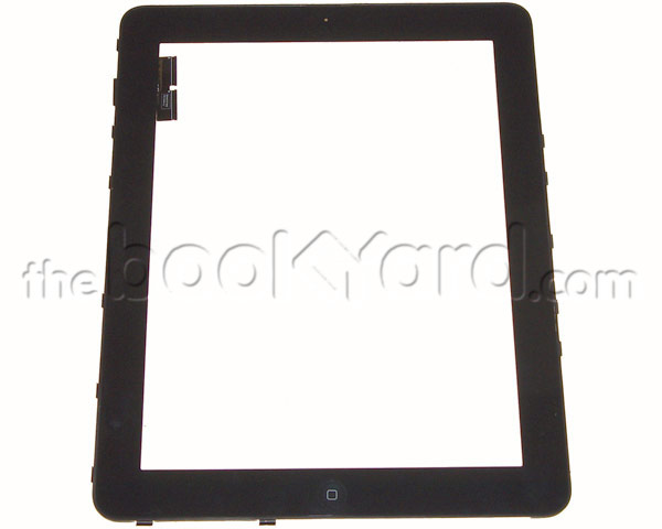 iPad 1 Digitizer and mid frame/home button - WIFI