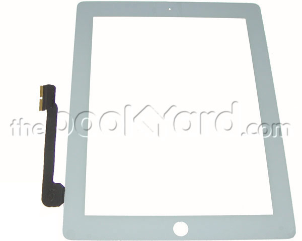iPad 4 Digitizer/glass Assembly - White Copy
