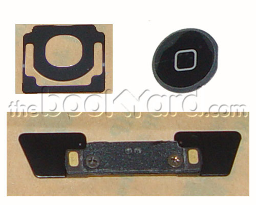 iPad 2 Home Button and Mounts - Black