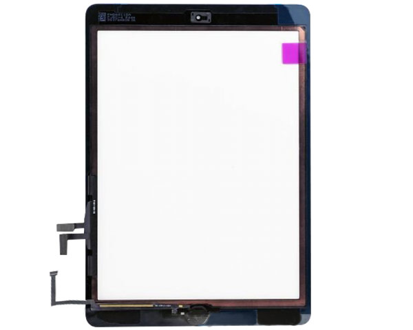 iPad Air Digitizer/glass With Tape - Black 3rd Party Assembly