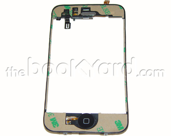 iPhone 3G Display Mid Frame with 3M Adhesive and Parts