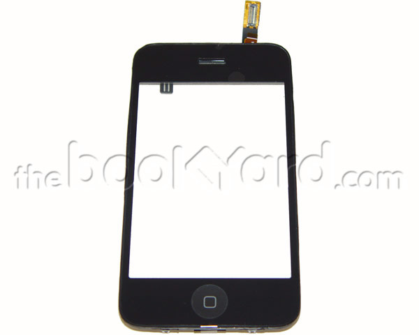 iPhone 3GS Digitizer and Mid Frame