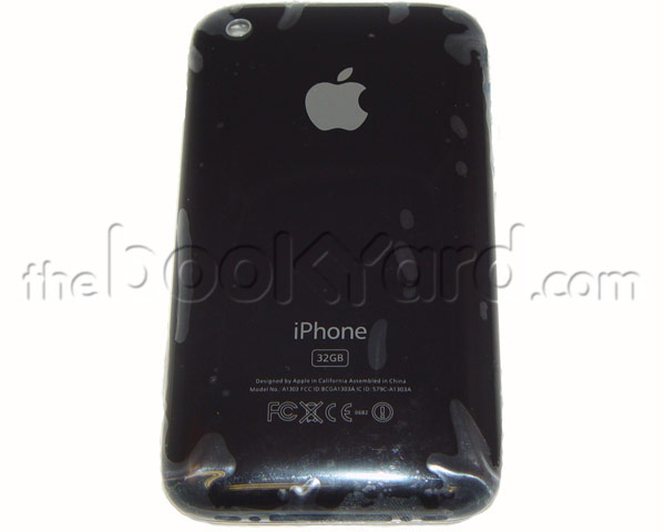 iPhone 3GS Rear Housing Unit - Black 32GB