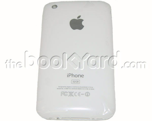 iPhone 3GS Rear Housing Unit - White 32GB