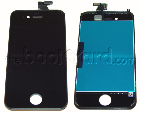 iPhone 4S LCD & Digitizer Full Frame Assembly - Black