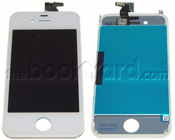 iPhone 4S LCD & Digitizer Full Frame Assembly - White