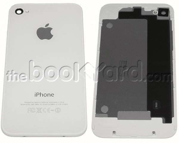 iPhone 4 Back Glass Cover - White - Apple Original