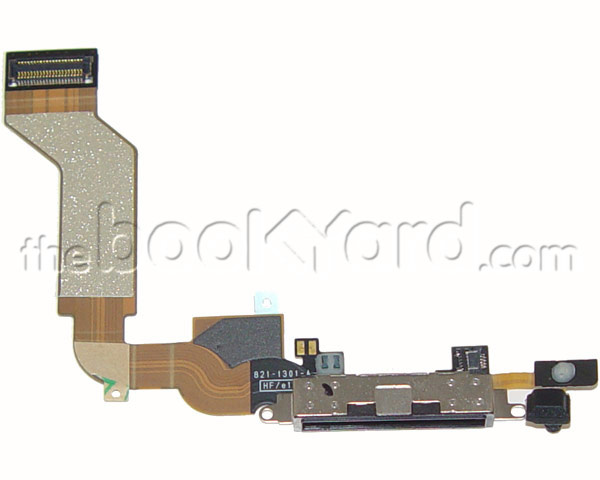 iPhone 4S Dock Connector Flex Cable - Black