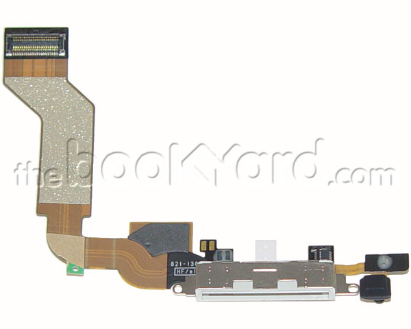 iPhone 4S Dock Connector Flex Cable - White