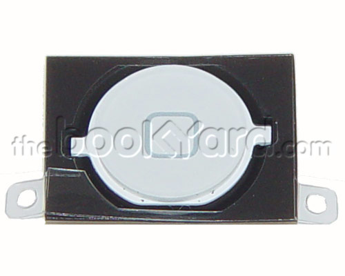 iPhone 4S Home Button and Rubber Gasket Kit - White