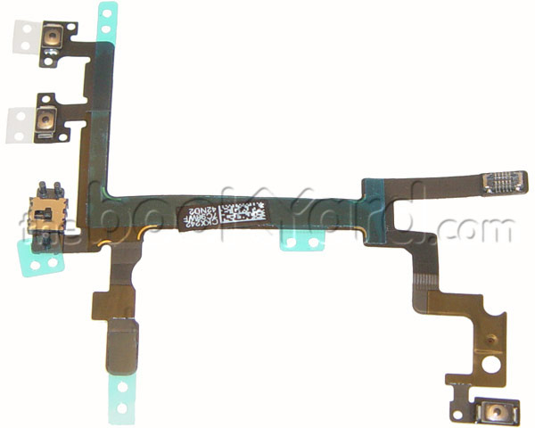 iPhone 5 Power/Volume/Mute Switch - Button Control Flex Cable