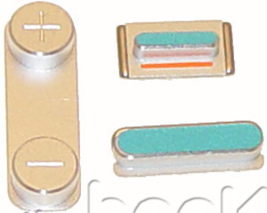iPhone 5S/SE Button Casing Kit - Silver