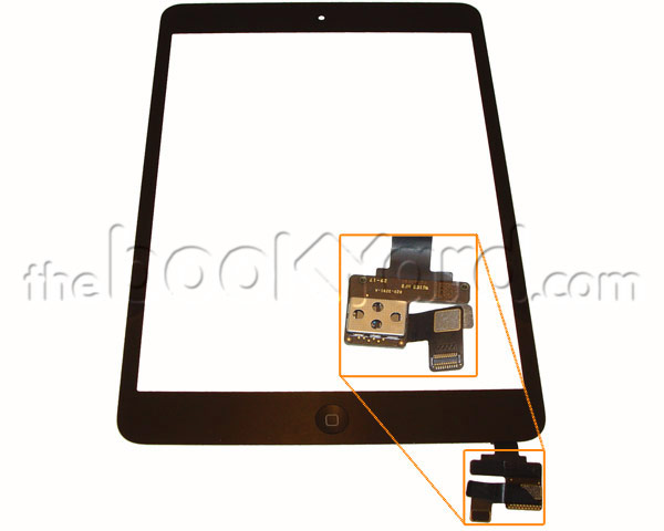 iPad Mini 3 Digitizer - Space Grey - Original
