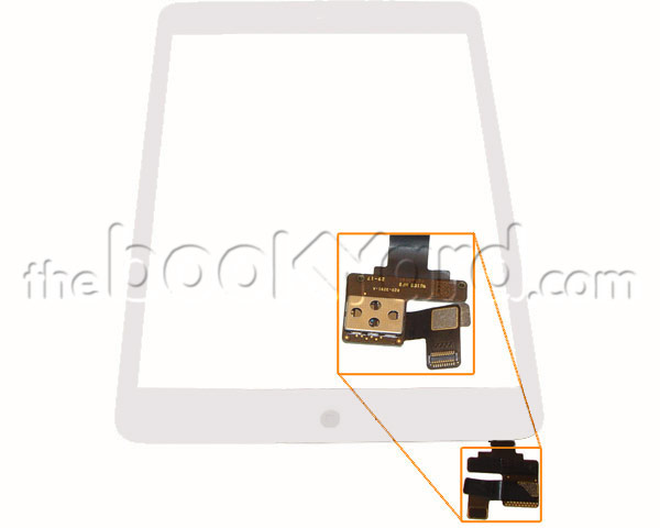 iPad Mini 1/2 Digitizer/glass Assembly - Silver 3rd Party