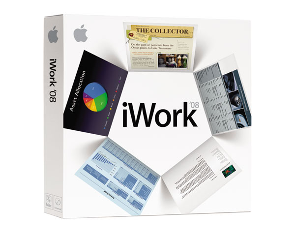 iWork '08 Full Retail version - Boxed CD