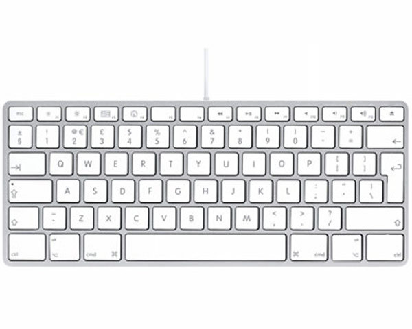 Apple Aluminium Keyboard - USB Compact UK