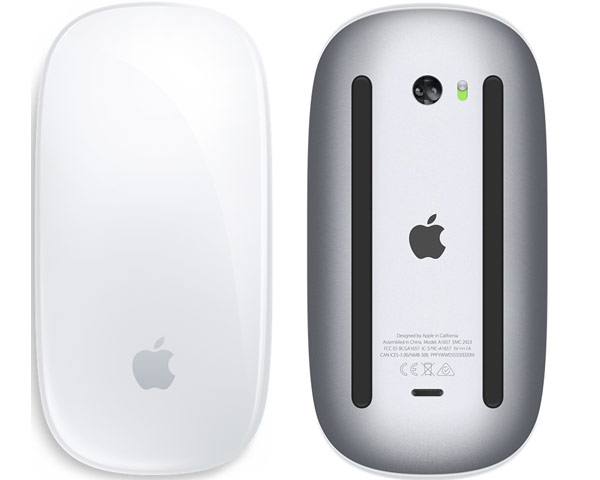 Apple Magic Mouse II, Bluetooth - Silver